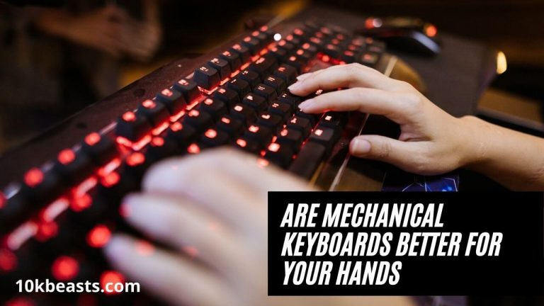Are Mechanical Keyboards Better for Your Hands