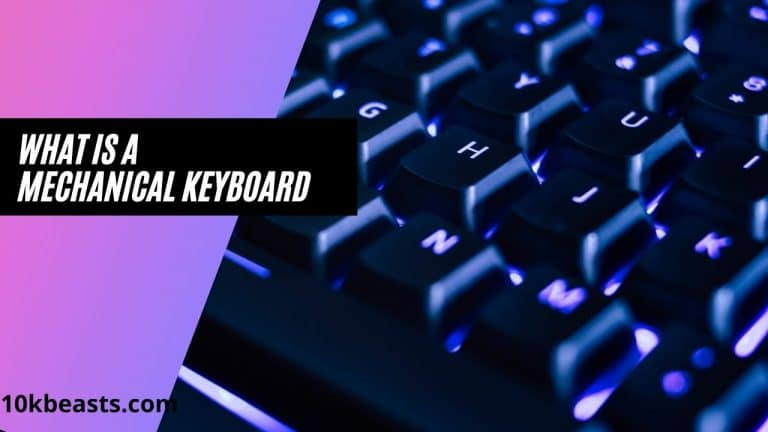 pros and cons of mechanical keyboard